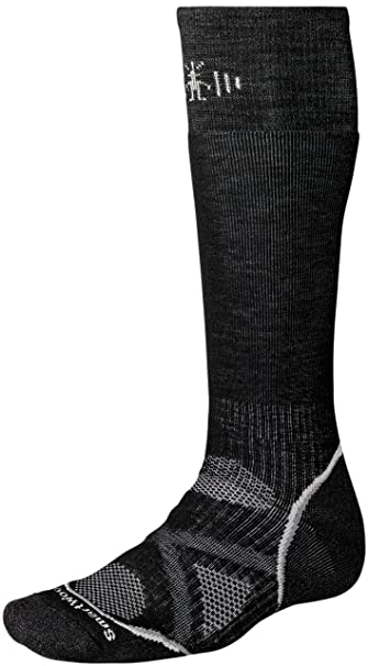 Smartwool Men's PhD Snowboard Medium Socks (Black) Small