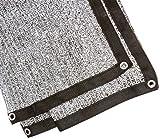 Suntex Aluminet Sun Shade Sail / Panel / Cover 6.5' x 12' - Effectively Reflects Away Heat