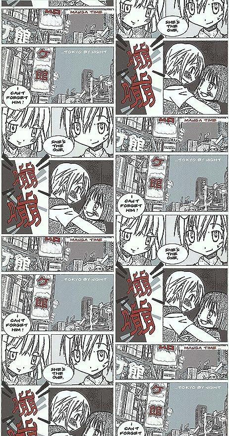Manga Comic Book Wallpaper Mtr Roll