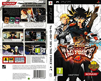 Yu gi oh 5ds tag force 4 psp