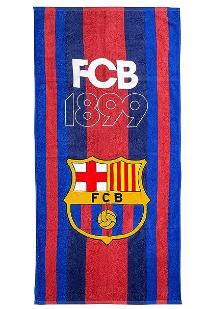FC Barcelona FCB playa toalla, art. 8084, 70 x 140 cm, Original licencia oficial: Amazon.es: Hogar
