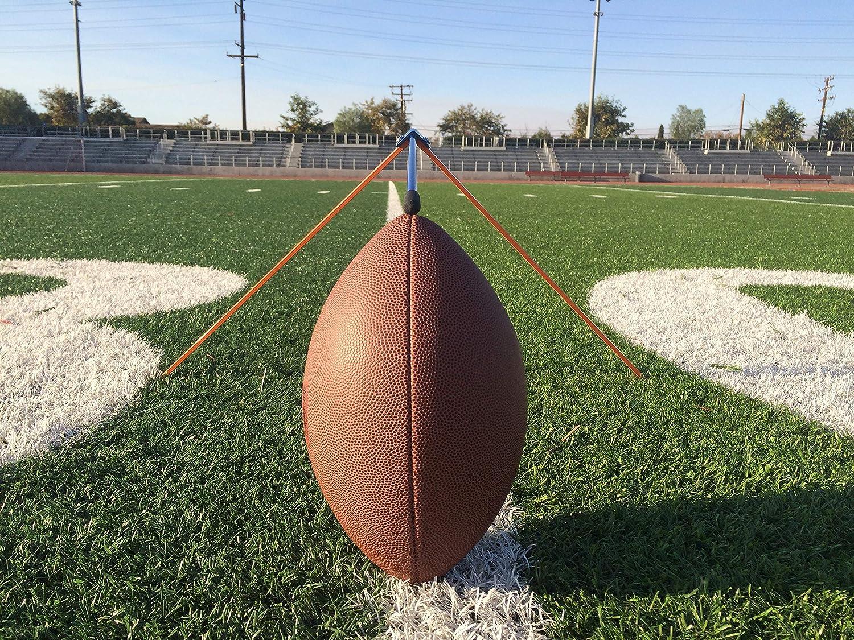 Football Place Holder Kicking Tee Kickoff Green and White Football Holder