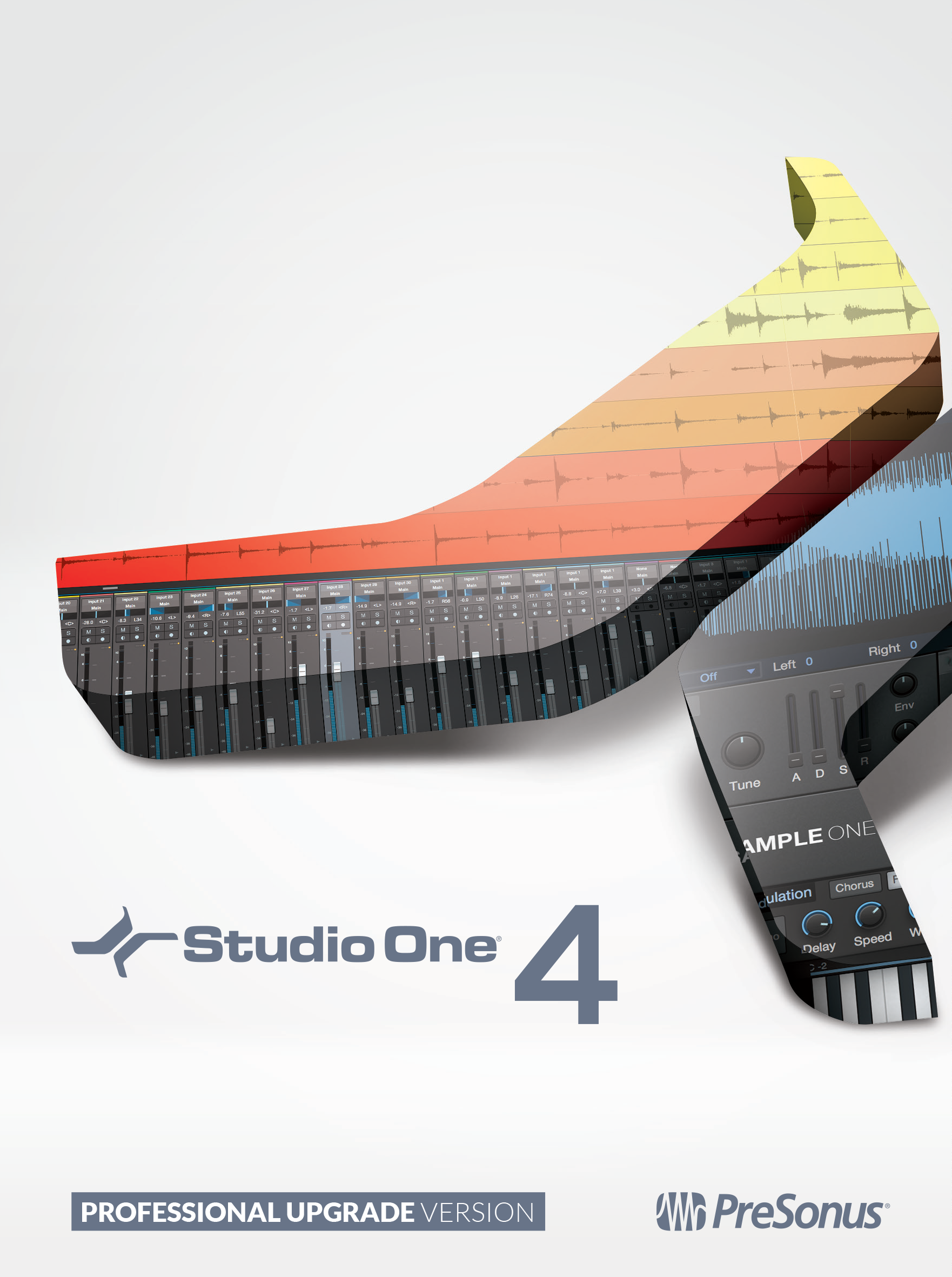PreSonus Studio One 4 Professional Upgrade from Professional or Producer – all versions [Online Code]