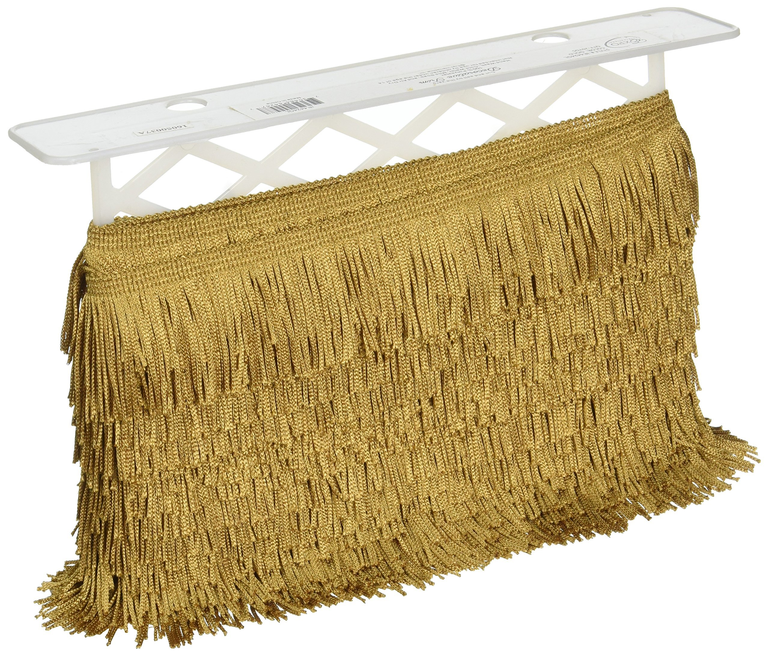 Expo Chainette Fringe 2'' Wide 20 Yards-Gold by Expo