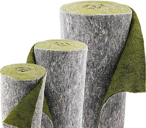1 Pflanztasche Pflanztaschen grün Ufermatte Böschungsmatte für Teichfolie Vlies
