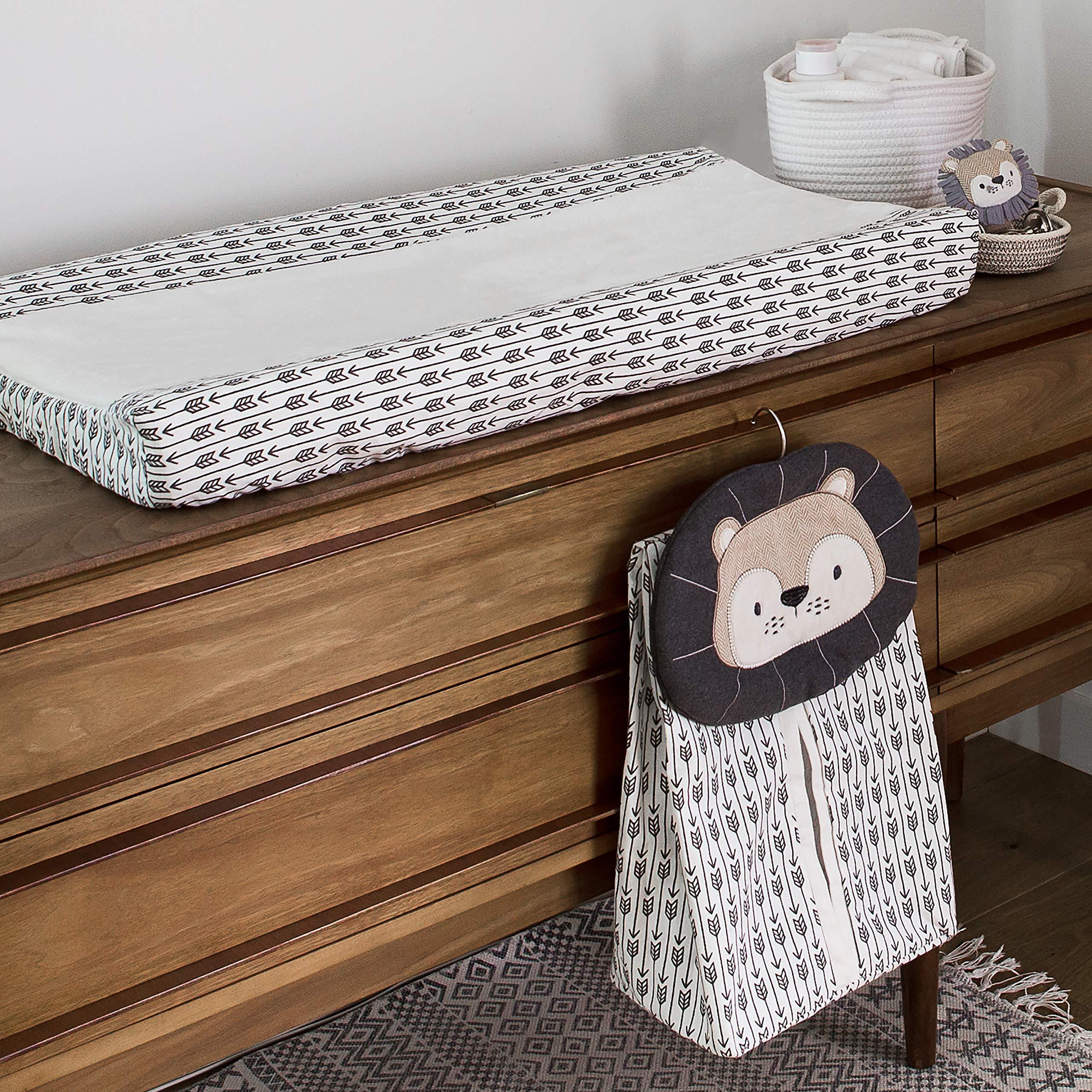 Levtex Baby Tanzania Neutral 5-Piece Crib Bedding Set, Grey/Black/Cream/Tan by Levtex (Image #5)