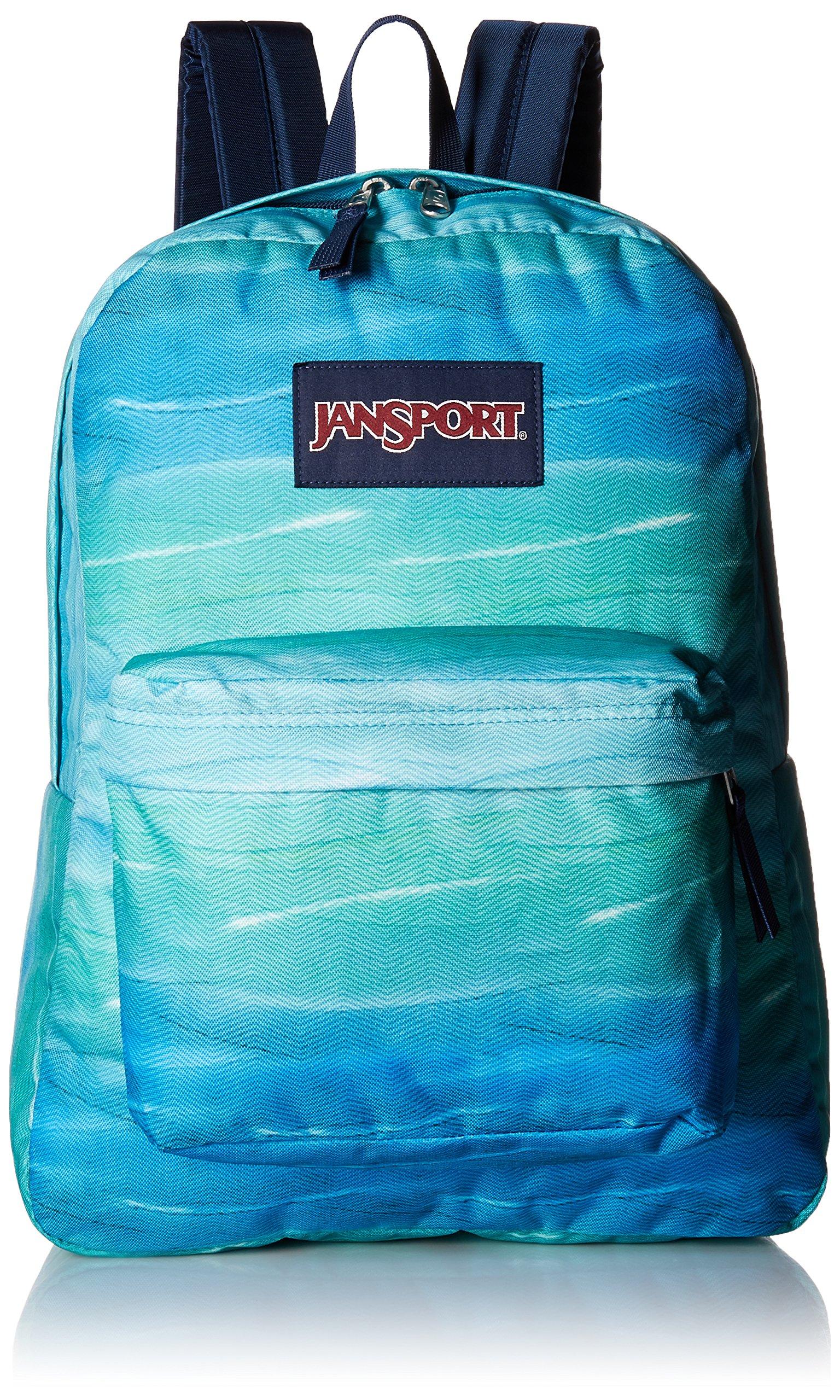 JanSport Superbreak Backpack- Sale Colors (Ocean Ombre)