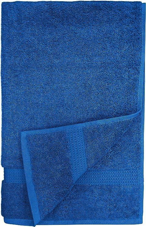 Juego de toallas, 100% algodón egipcio puro, 600 gsm, algodón egipcio, azul real, Bath Sheet(90X150cm): Amazon.es: Hogar