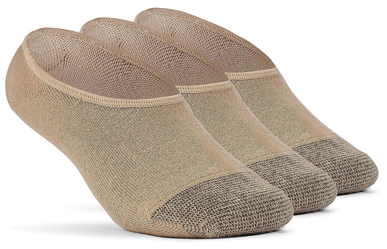 YolBer Boys Cotton Super Soft No Show Liner Socks 3 Pairs