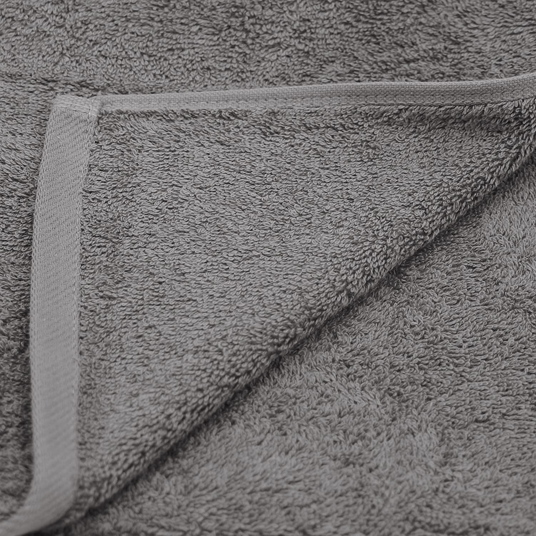 ZOLLNER 6 Toallas de Lavabo, Premium 520 g/m², 50x100 cm, Gris: Amazon.es: Hogar