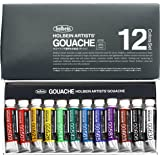 Holbein Artists Gouache Set of 12, G702 ,5ml tubes