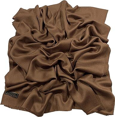 Cream Solid Colour Design Shawl Scarf Wrap Stole Throw Pashmina CJ Apparel *NEW*
