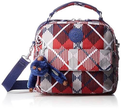 Kipling Handbag Convertible To Backpack Candy Layered Check F