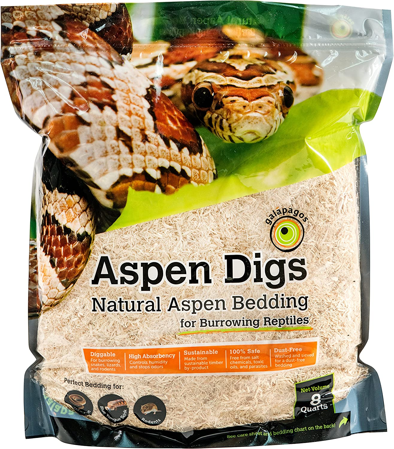 Galapagos Aspen Digs Shavings Bedding