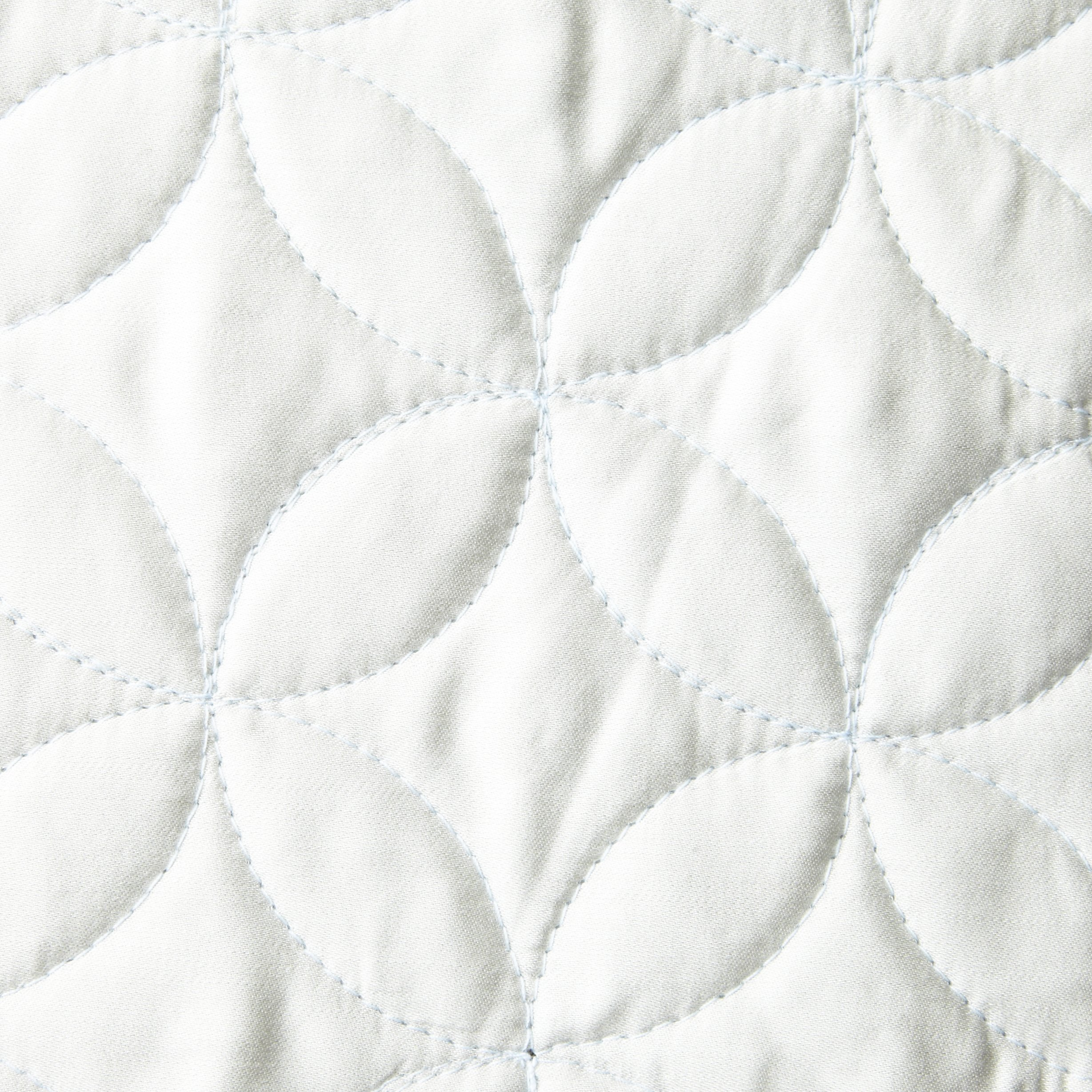 Tuscany Fine Linens Livorno Beechwood Modal Quilted Coverlet Set, Seafoam, Queen Oversized by Tuscany Fine Linens (Image #2)