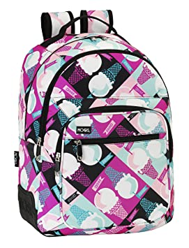 Safta Moos-Tot Helado Mochila Doble Adaptable, Color Rosa: Amazon.es: Equipaje