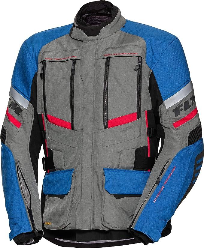 Herren FLM Motorradschutzjacke Enduro//Reiseenduro Motorradjacke Sommerreise Textiljacke modular 1.0