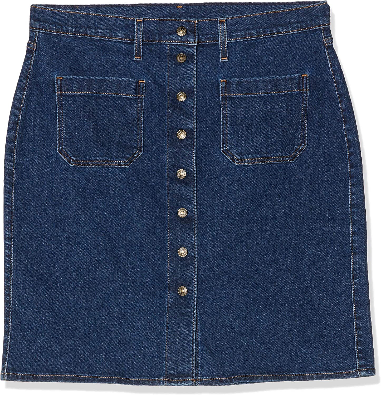 Levis Front Detailed Skirt - Falda para Mujer: Amazon.es: Ropa y ...