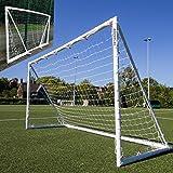 QUICKPLAY Q-Fold Soccer Goal | The 30 Second Folding Soccer Goal for Backyard [Single Goal] The Best Weatherproof Soccer Net