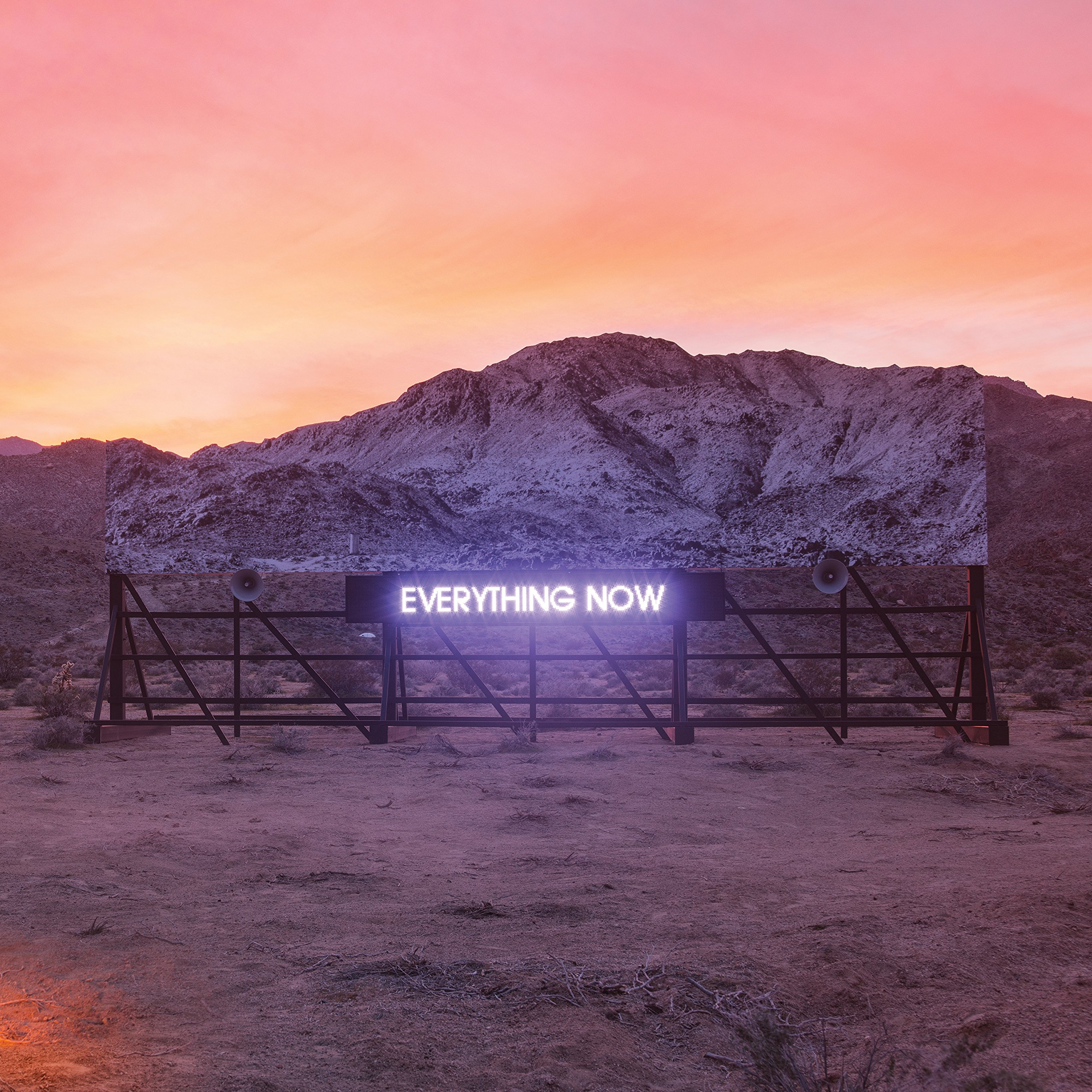CD : Arcade Fire - Everything Now (Digipack Packaging, O-Card Packaging)