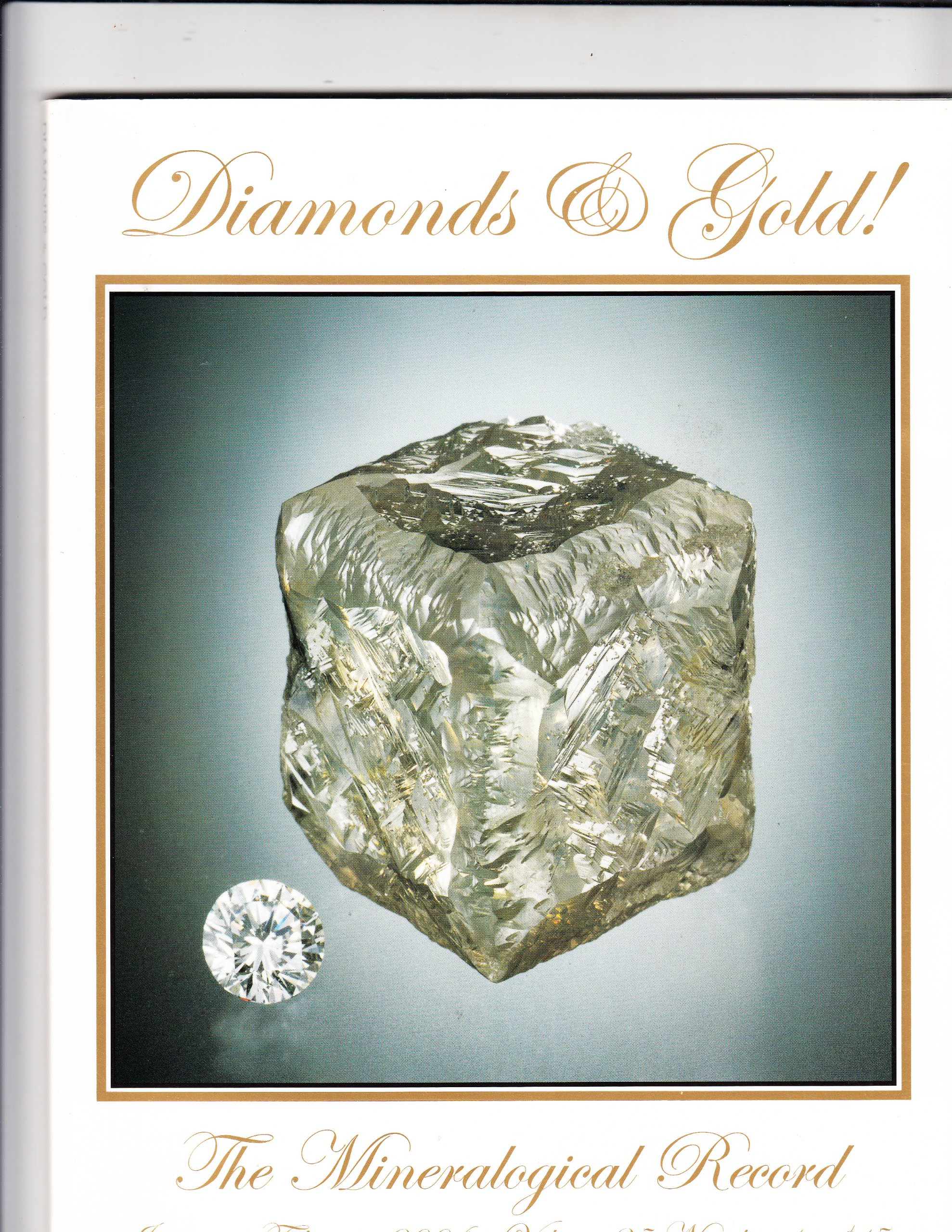 Download Diamonds & Gold! January-February 2004 (Mineralogical Record, Volume 35, Number 1) pdf epub