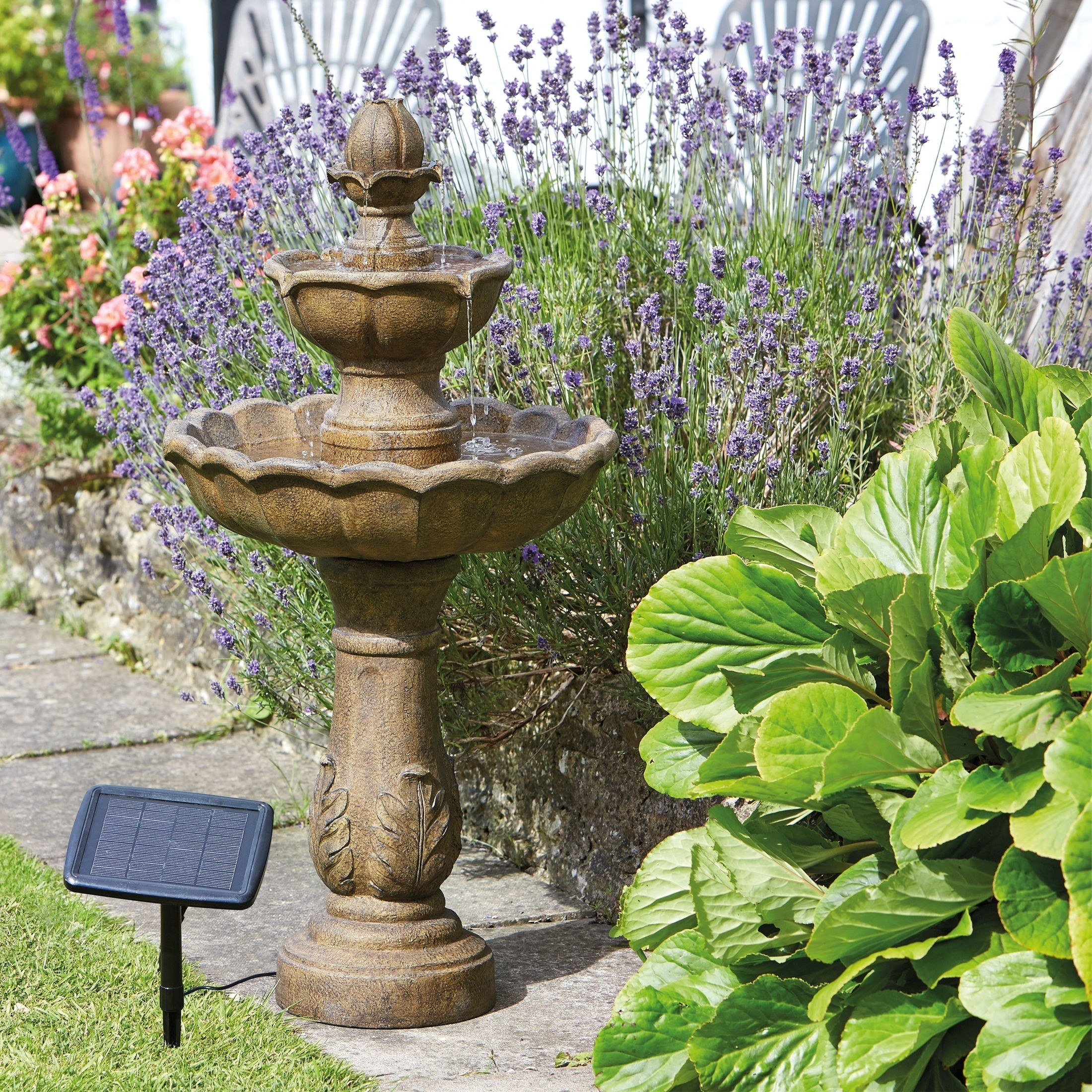 Log neilsstonecraft Replacement birdbath bowl