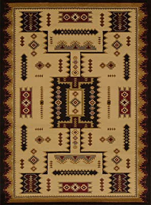 United Weavers Affinity Coltan Ivory Accent Colorful Luxury Rug for Bedroom, Living Room, Dining