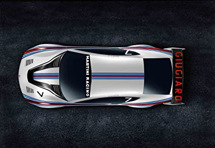 Amazon Italdesign Brivido Martini Racing 2012 Car Art Poster