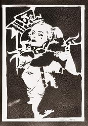 Póster Harley Quinn Suicide Squad Grafiti Hecho A Mano - Handmade Street Art - Artwork