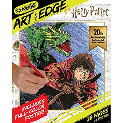 Crayola Art with Edge Coloring Pages Harry Potter Celebration: Toys & Games