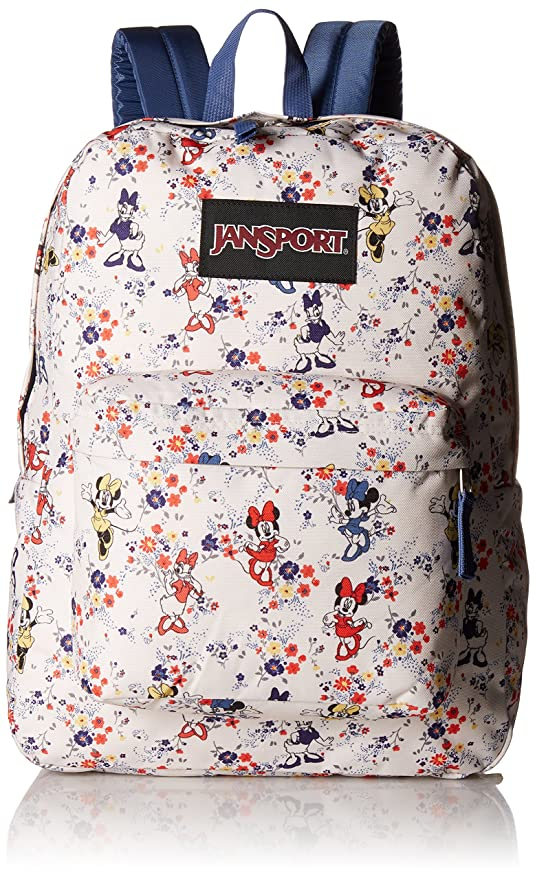 15d5da82f5d Amazon.com  JanSport Disney Superbreak Backpack (Blooming Minnie)  Sports    Outdoors