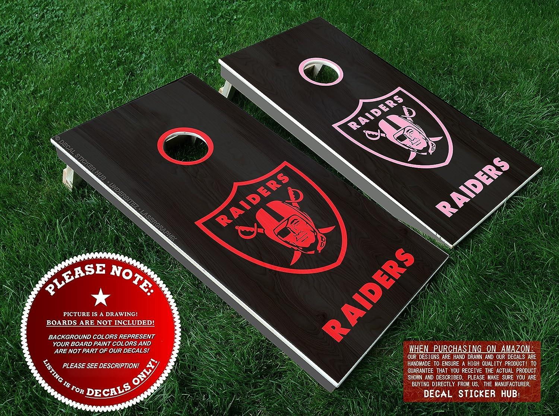 HIGH QUALITY Oakland Raiders cornhole board rings