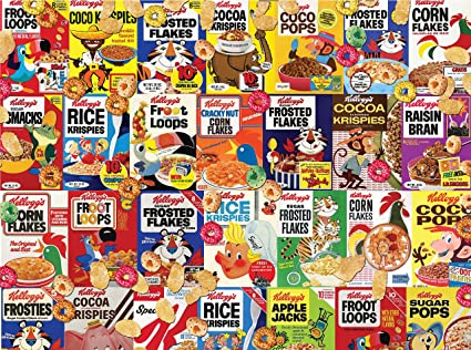 Frosted Flakes Kelloggs Vintage 1000 Jigsaw Puzzle