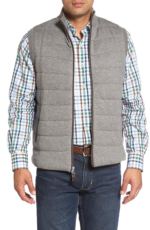 [ピーターミラー] メンズ ジャケットブルゾン Peter Millar Quilted Wool & Cotton Full [並行輸入品] B07C3J1TTB Small