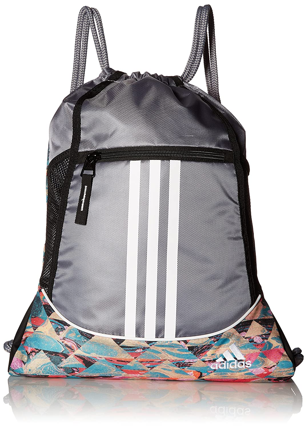 adidas Alliance II Sackpack 18 x 13 3/4-Inch Black 104148