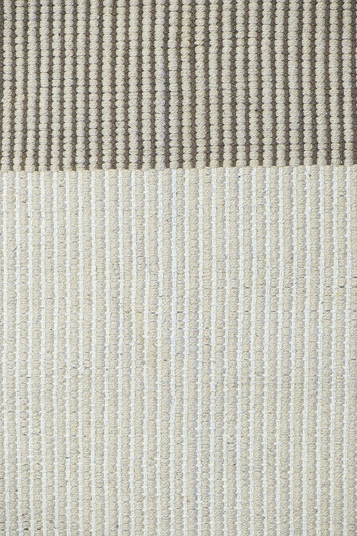 Jute & Co Nevada Alfombra Tejido A Mano, 100% algodón, Beige, 200 ...