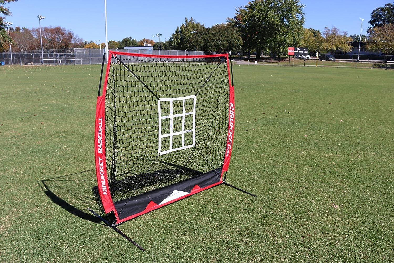 amazon com rukket 5x5 baseball u0026 softball practice net with