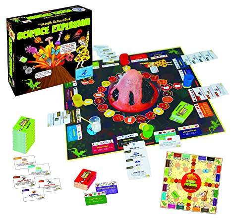 The Magic School Bus: Science Explosion Board Game