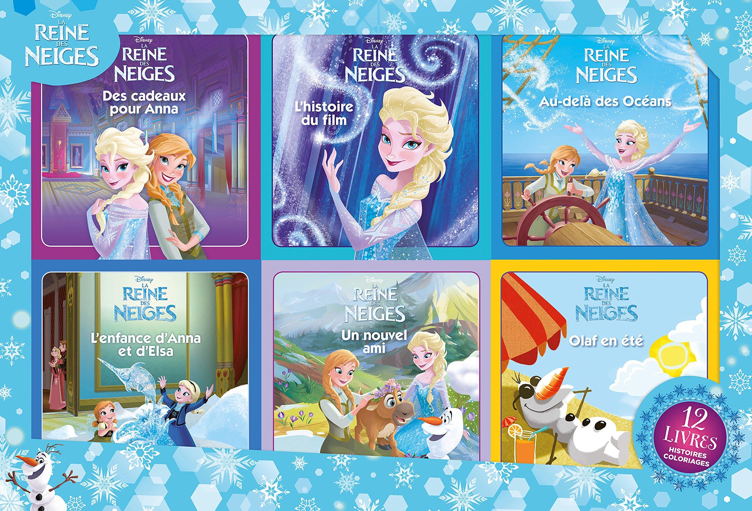 La Reine Des Neiges Disney 9782012308800 Amazon Com Books