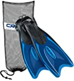 Cressi Palau Long Scuba Snorkeling Fin, with Mesh Bag