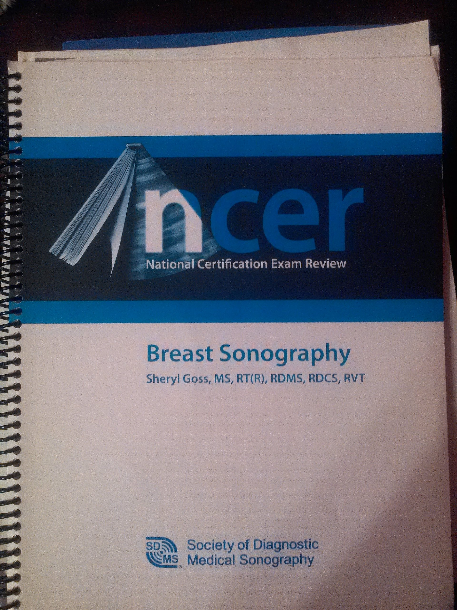 Ncer National Certification Exam Review Breast Sonography Ms Rtr
