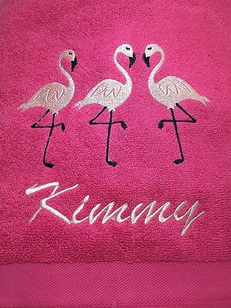 Boys Girls Emoji Flamingos Printed Children Swimming Beach Bath Towel