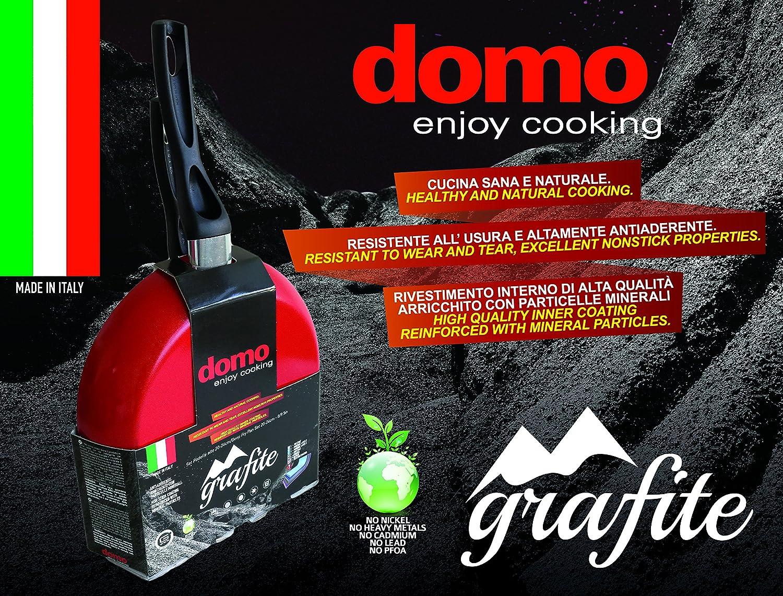 Domo Enjoy Cooking D99ST0300 - Juego de sartenes, aluminio: Amazon ...