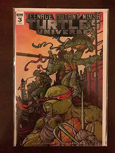 Teenage Mutant Ninja Turtles #3 2011 Retailer Incentive IDW ...