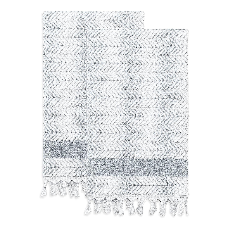 4f9bc2e3a8ce Amazon.com: Linum Home Textiles Assos Turkish Cotton Bath Towels (Set of  2): Home & Kitchen
