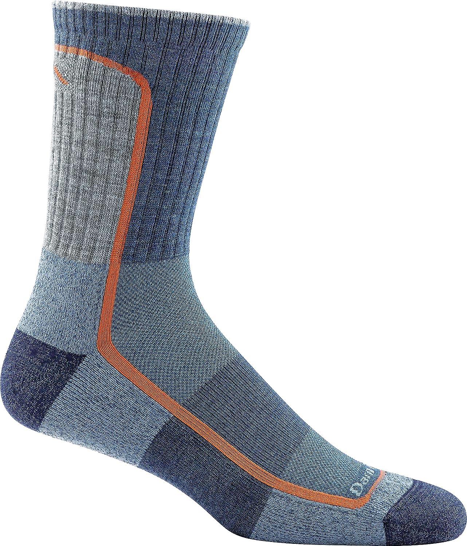 Darn Tough 1913 Men's Merino Wool Light Hiker Micro Crew Light Cushion Socks - 6 Pack Special