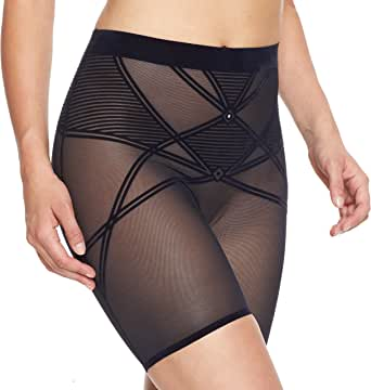 Nancy Ganz Women's Sheer Decadence Shaper Short
