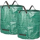 GardenMate® 2X Gartensack 272l aus Robustem Polypropylen-Gewebe (PP) 150gsm
