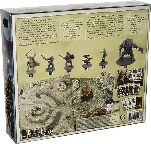 Asmodee – Juego de Tablero – Conan – Nordheim, mocon24ml: Amazon.es: Juguetes y juegos