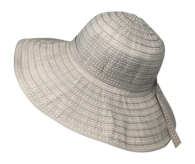 f798e464a58 Packable Ribbon Crusher Sun Shade Beach Hat